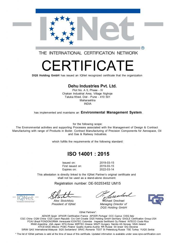 50253452 - Dehu Industries Pvt. Ltd. - 14k - IQNET