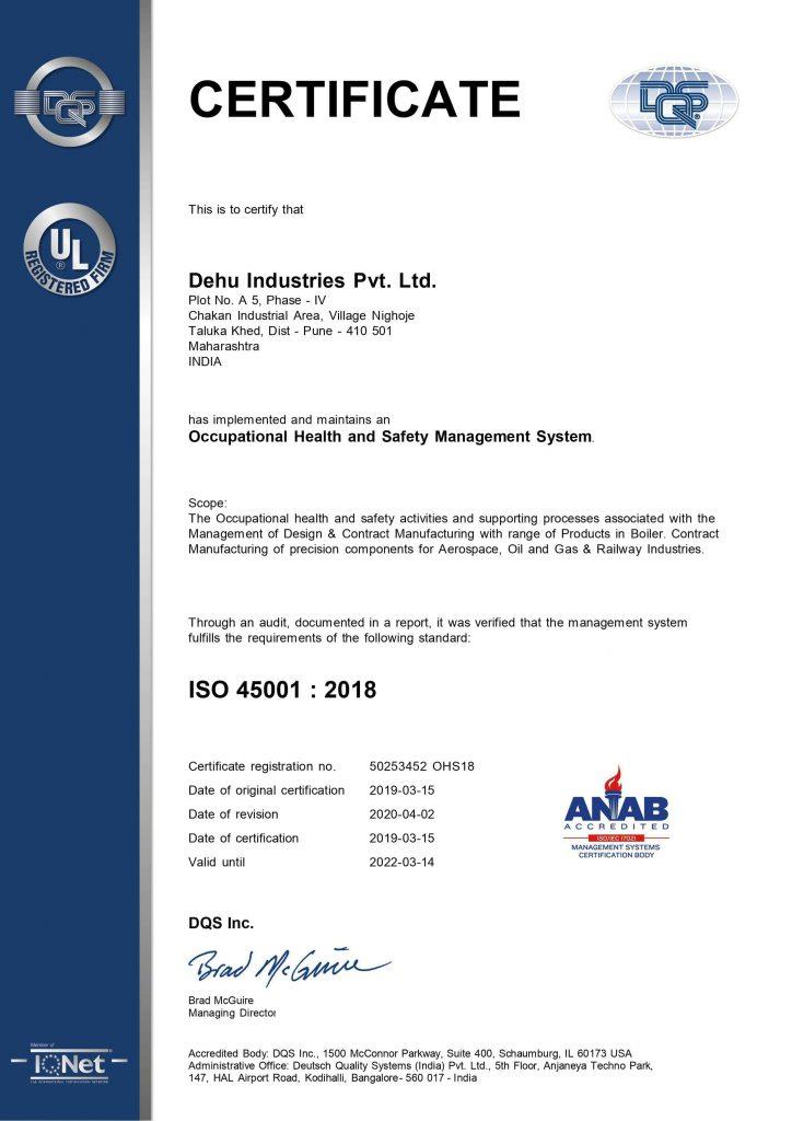 50253452 - Dehu Industries Pvt. Ltd. - 45k - ANAB