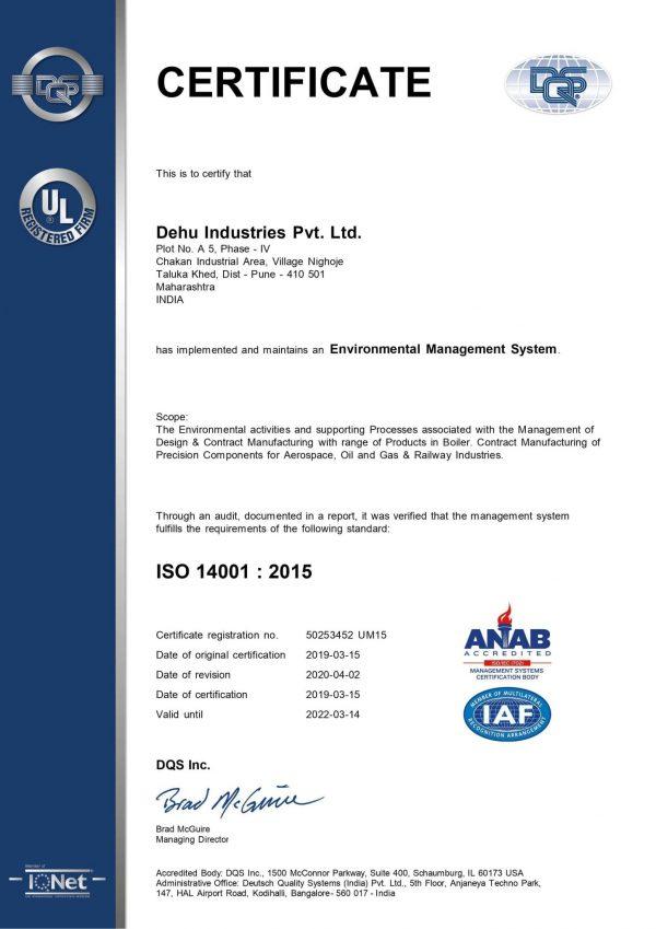 50253452 - Dehu Industries Pvt. Ltd. - 14k - ANAB