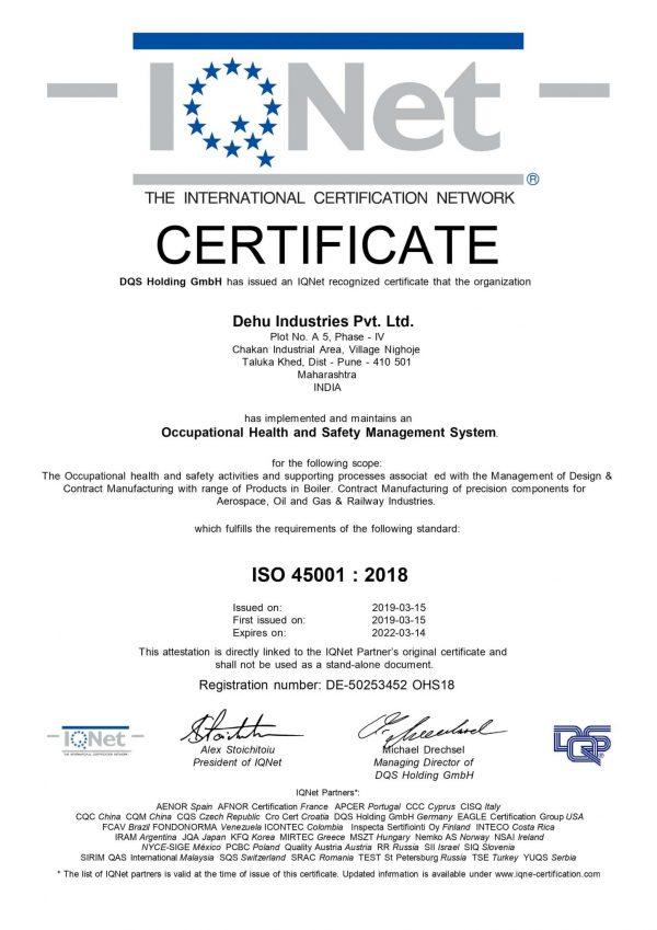 50253452 - Dehu Industries Pvt. Ltd. - 45k - IQNET
